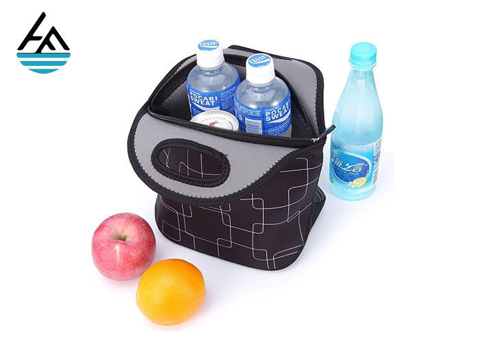 Large Neoprene Lunch Bag  , Lunch Tote Neoprene Cooler Bag For Adults