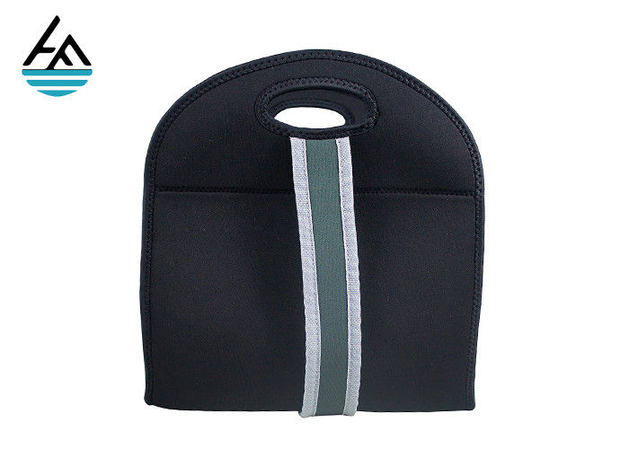 Unisex Insulate Neoprene Lunch Bag  / Neoprene Food Bag Zipper Bento Bag