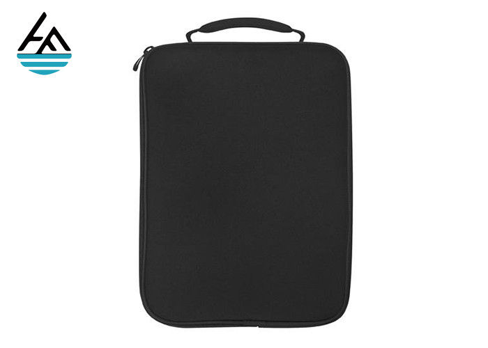 Shockproof 12 Neoprene Laptop Bag With Handle 2mm Thickness For Business Trip