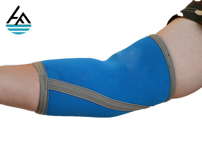 Custom CrossFit Elbow Brace , Sports Elbow Compression Sleeve For Running