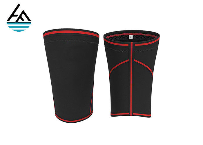 7mm Compression Elastic Neoprene Knee Sleeve For Weightlifting Train