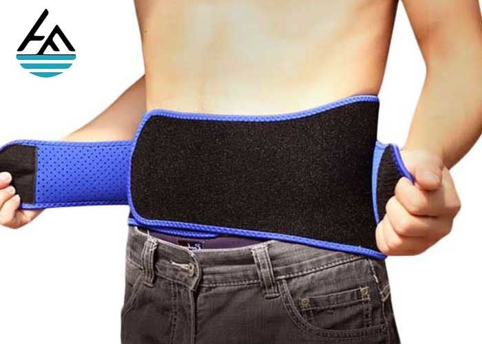 Elastic Adjustable Neoprene Waist Belt Mens Waist Slimming Belt Support Trainer