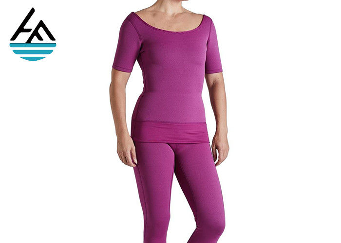 Comfortable Elastic Neoprene Workout Pants For Weight Loss Absorbs Sweat