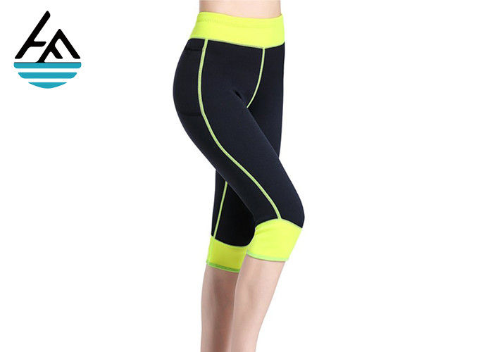 Saunafit Slimming Workout Pants / Neoprene Exercise Pants CrossFit Exercise