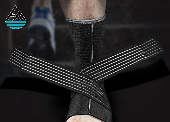 Elasticated Neoprene Ankle Wrap / Sport Foot Ankle Support Bandage