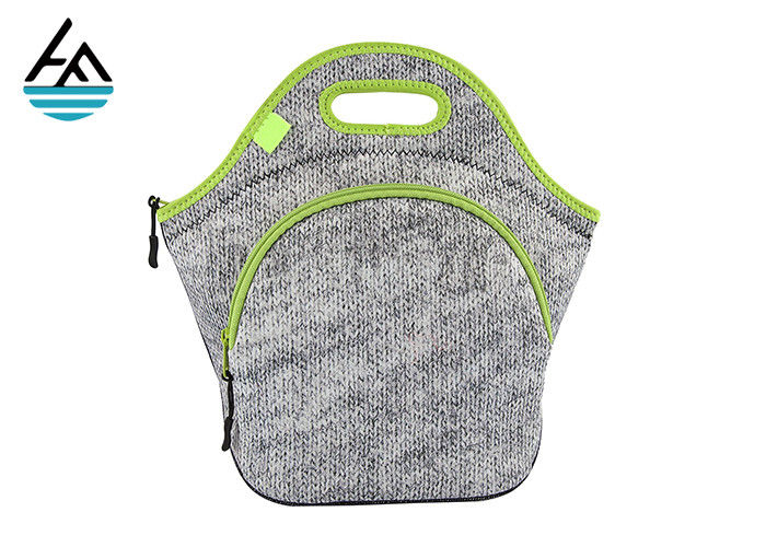 Sublimation Blank Insulated Neoprene Lunch Sack For Outdoor Picnic