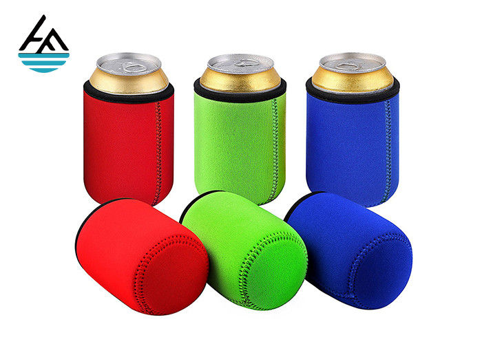 Custom Foam Neoprene Can Holder / Mutispandex Personalized Beer Can Cooler