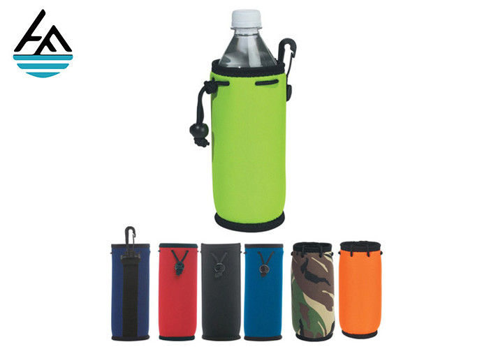 Cycling Bottle Cooler Bag Neoprene Water Bottle Cover With Holder Strap