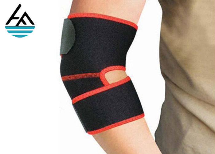Adjustable Comfortable Neoprene Elbow Sleeve 5mm 7mm For Pain Relief
